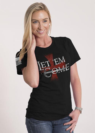 Women's Relaxed Fit T-Shirt -  Let em Come