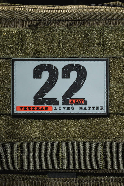 22 A Day PVC Patch
