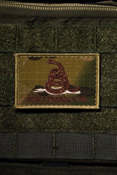 Don't Tread On Me MultiCam Patch