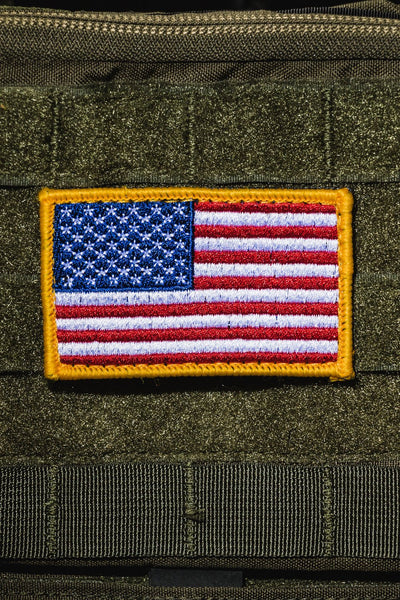 Full Color American Flag Patch