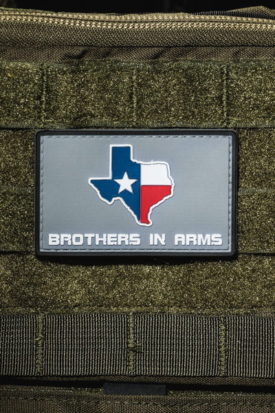 Texas Brothers In Arms - BIA PVC Patch