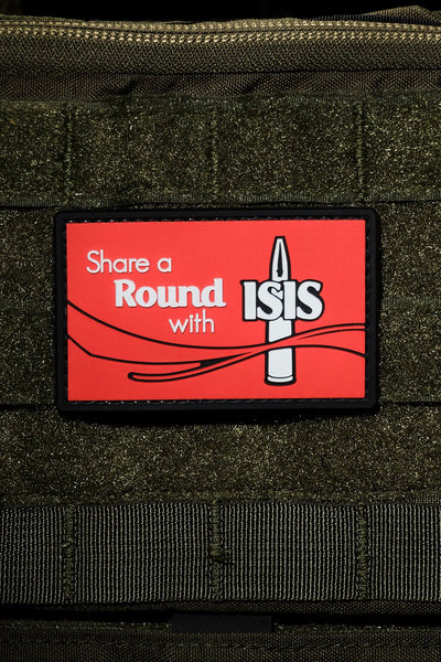 Share a Round with Isis PVC Patch