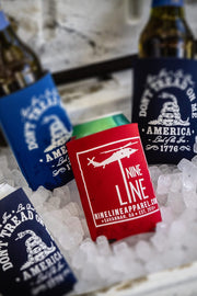 Nine Line koozies with many color options