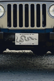 License Plate - Join Or Die