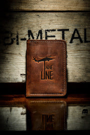 Nine Line Leather Wallet