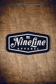Classic Nine Line PVC Patch