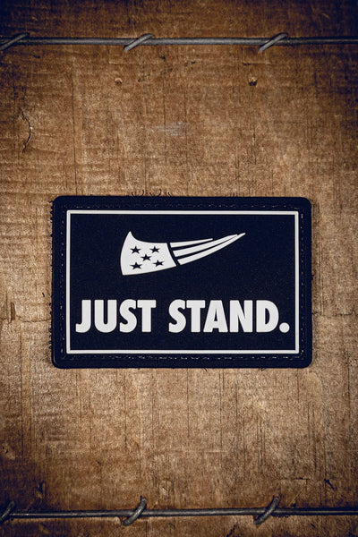Just Stand PVC Patch