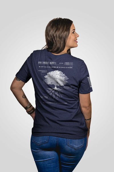 Women's Relaxed Fit T-Shirt - American Roots [Patriots Club Exclusive]