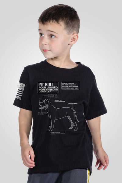 Youth T-Shirt - Pit Bull