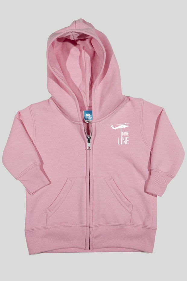 Infant Front Zip Hoodie - Nine Line Dropline