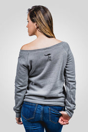Off-Shoulder Sweater - Relentlessly Fierce