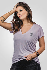 Women's Slouchy V-Neck - Basic