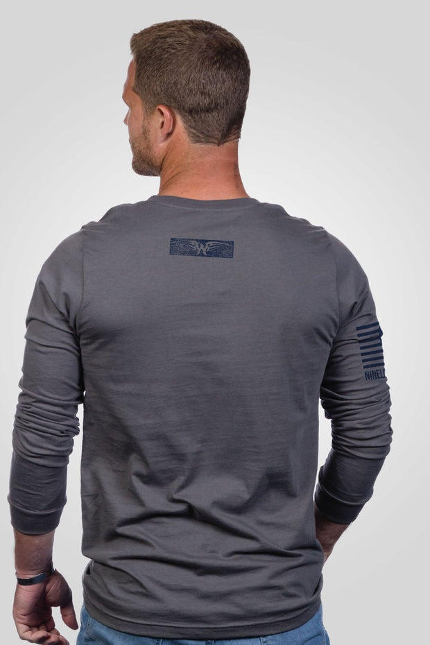 Men's Long Sleeve - Ryan Weaver Bars and Stars