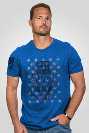 Men's T-Shirt - Ryan Weaver Bars and Stars