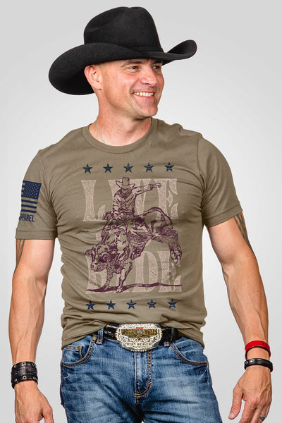 Men's T-Shirt - Live to Ride