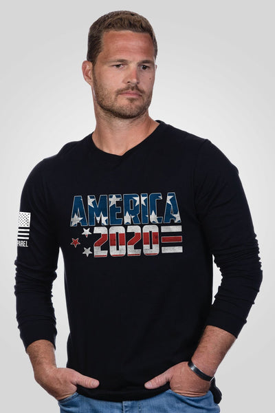 Men's Long Sleeve - Ryan Weaver - America 2020