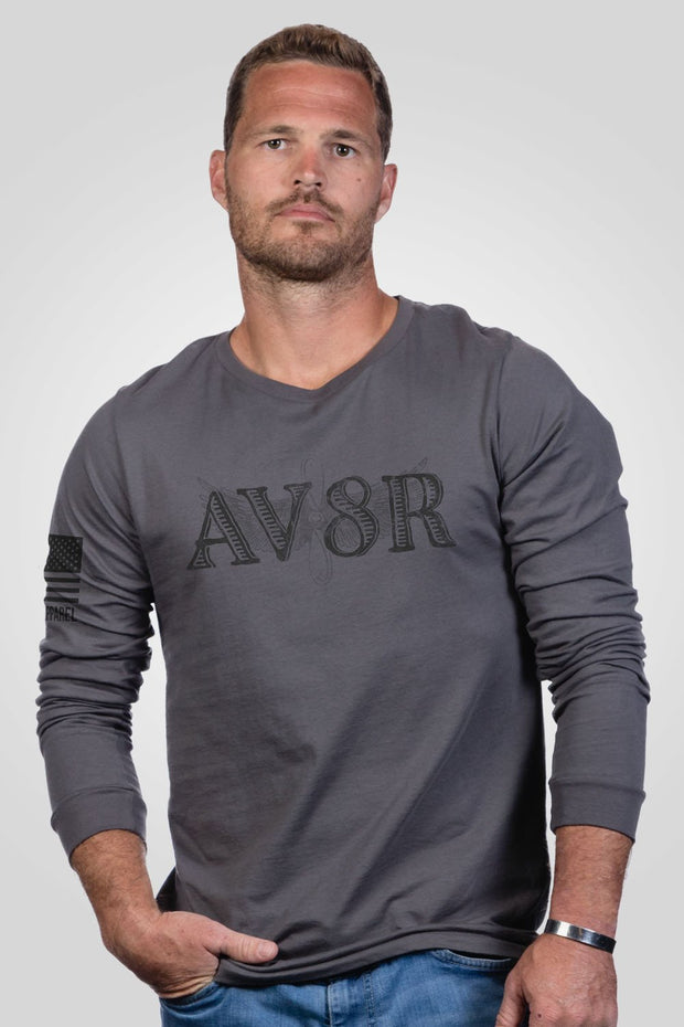 Men's Long Sleeve - Ryan Weaver AV8R