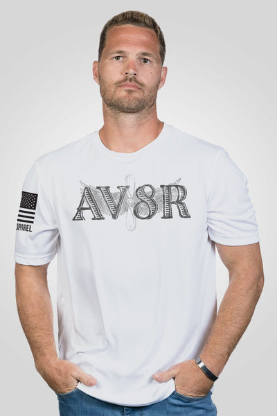 Men's Moisture Wicking T-Shirt - Ryan Weaver AV8R
