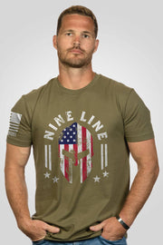 Men's T-Shirt - Full Color Spartan