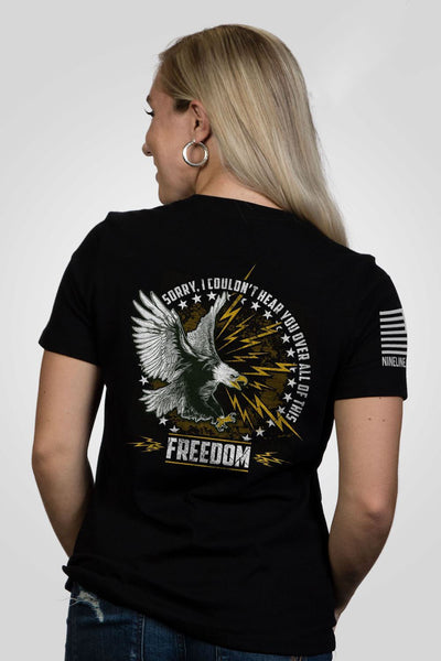Women's Relaxed Fit T-Shirt – Roar Of Freedom [Patriots Club Exclusive]
