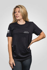 Boyfriend Fit T-Shirt - SFG- Tempest