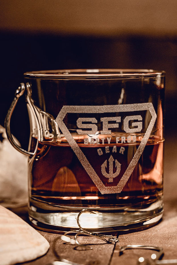 Hook Whiskey Glass Salty Frog Gear