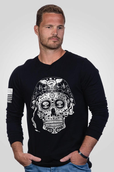 Men's Long Sleeve - Sugar Skull