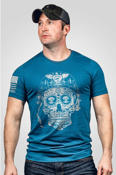 Seasonal Men's T-Shirt - Sugar Skull