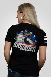 Women's Relaxed Fit T-Shirt - Sig Sauer Eagle