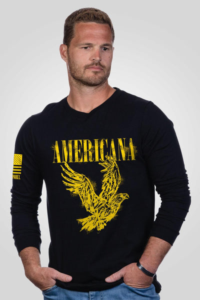 Men's Long Sleeve - Smells Like Americana Spirit