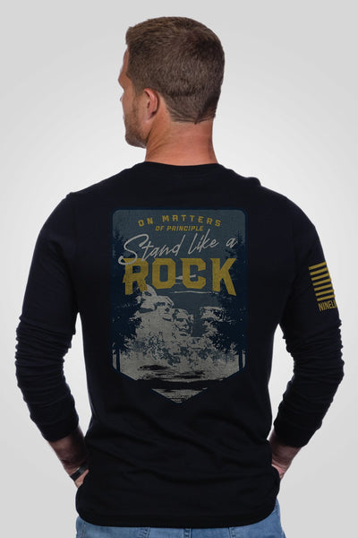 Men's Long Sleeve - Stand Like A Rock