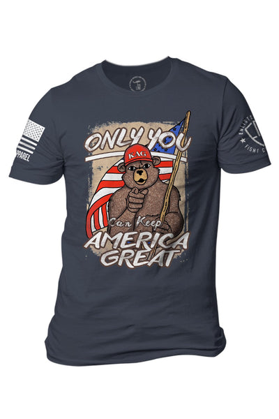 Enlisted 9 - Men's T-Shirt - Keep America Great