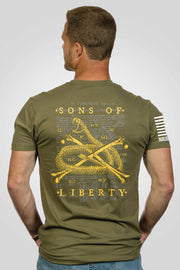 Mens T-Shirt - Sons Of Liberty