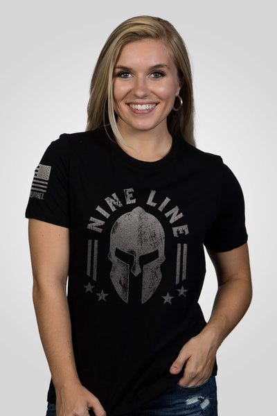 Women's Relaxed Fit T-Shirt - Nine Line Spartan