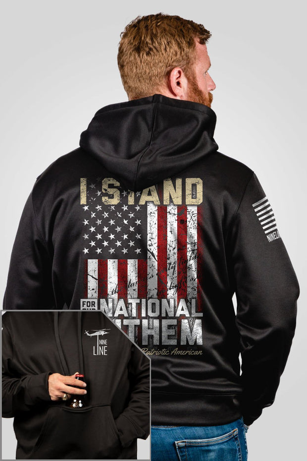 Athletic Tailgater Hoodie - I Stand