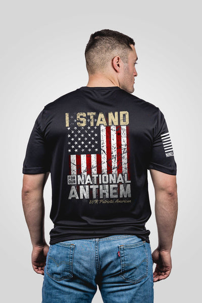 Moisture Wicking T-Shirt - I Stand