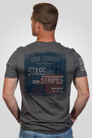 Men's T-Shirt - Stars and Stripes