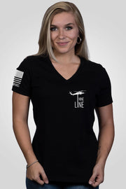 Women's Relaxed Fit V-Neck Shirt - Stomp