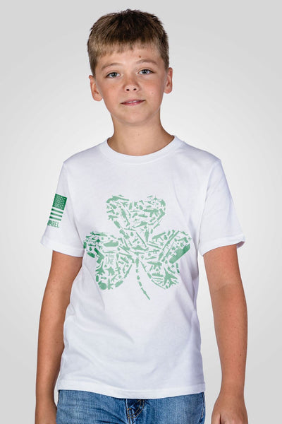 Youth T-Shirt - Nine Line Shamrock