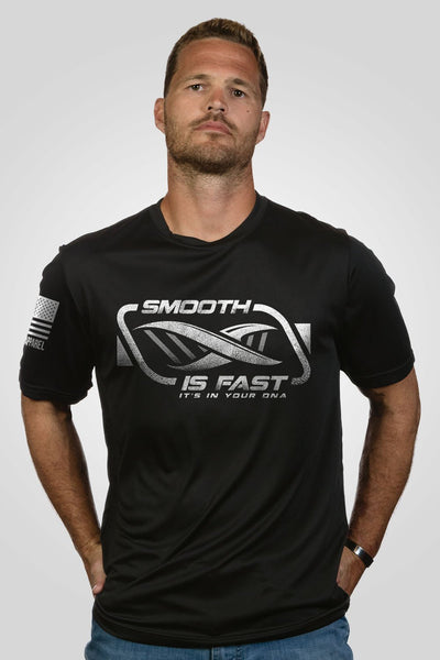 Men's Moisture Wicking T-Shirt - Craig Morgan - Smooth is Fast