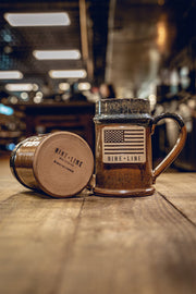 Nine Line Ceramic Tallboy Mug