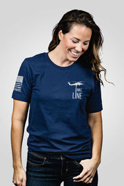 Boyfriend Fit T-Shirt - Thin Blue Line