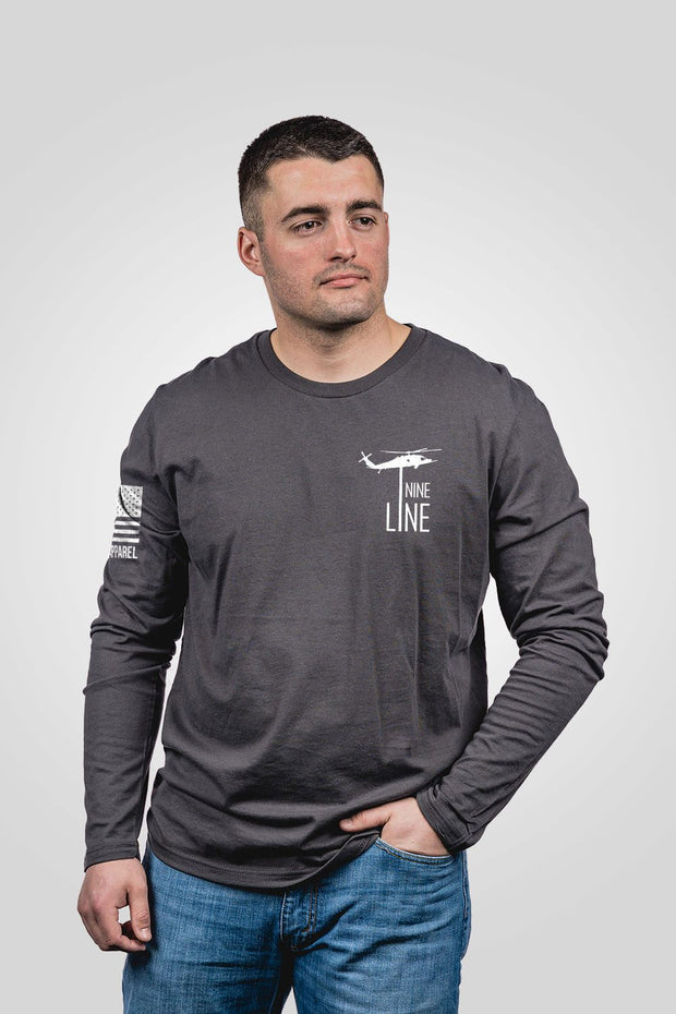 Men's Long Sleeve - Thin Blue Line