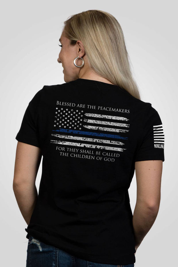 Women's Relaxed Fit T-Shirt - Thin Blue Line
