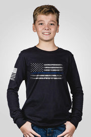 Youth Long Sleeve - Thin Blue Line