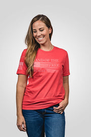 Seasonal Boyfriend Fit T-Shirt - Home of the Brave