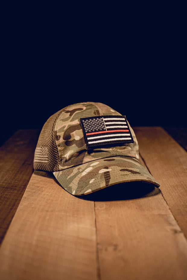 American Made Mesh Back Hat with Patch