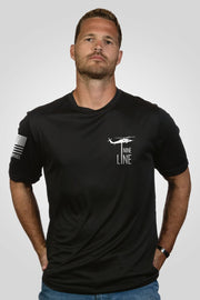 Men's Moisture Wicking T-Shirt - This Way To Freedom
