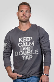 Men's Long Sleeve - Tig - Double Tap