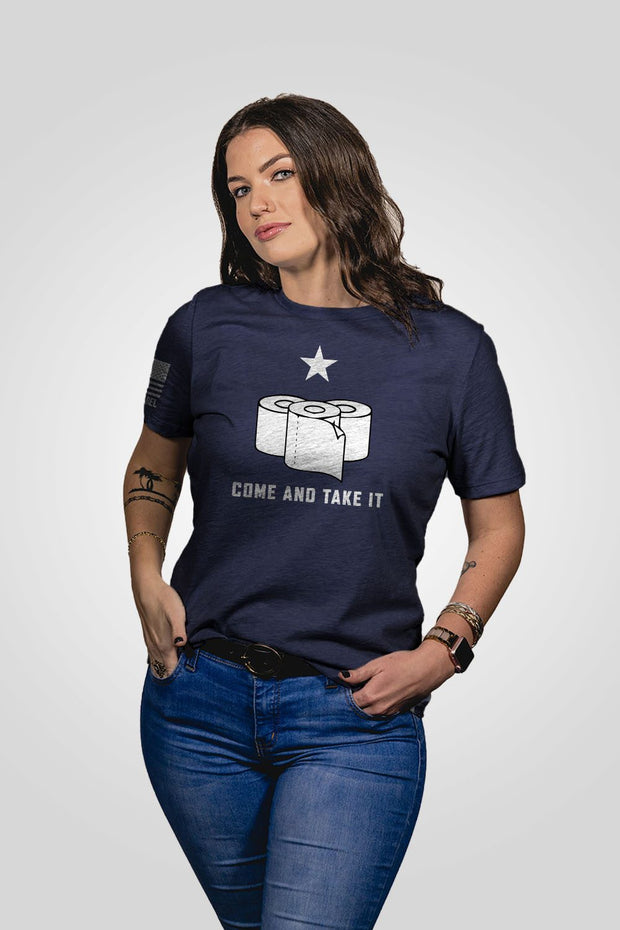 Women's Relaxed Fit T-Shirt - TP Come and Take It